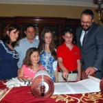 Family Donates Torah in Honor of Son's Bar Mitzvah