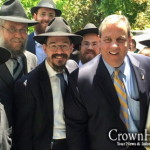 NJ Governor Christie Hosts 7 Shluchim