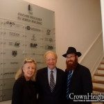 Picture of the Day: Sen. Lieberman Meets with Brussels Shliach