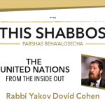 Shabbos at the Besht: The U.N., from the Inside Out