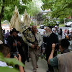Torah Welcomed to Its New Home in Medford