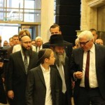 German Foreign Minister Visits Ukraine Chabad Center