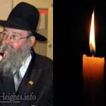 Boruch Dayan Hoemes: Rabbi Yekutiel Rapp, 66, OBM