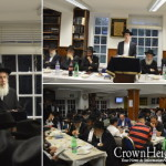 London Yeshiva Marks Completion of Maseches Gittin