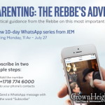 JEM Introduces WhatsApp Series on Parenting