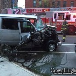Dollar Van Driver Hits 2 People in Crown Heights, Flees