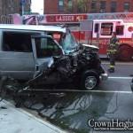 Dollar Van Driver Hits 2 People in Crown Heights, Flees