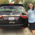 LA Mom's Creatively Takes On Drivers Who Text