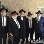 Picture of the Day: Crown Heights Delegation to Brunoy