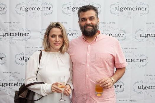 Evgenia Peretz and David Schisgall. Photo: Sarah Rogers.