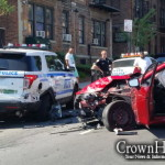Drunk Driver Crashes into Parked Police Car