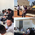 City Sends Tractor to Destroy 'Illicit' Chabad Shul
