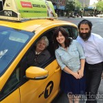 Shluchim Surprised to Learn Cabbie's Roots
