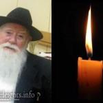 Boruch Dayan Hoemes: R' Moshe Shubov, 83, OBM