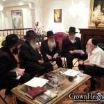 Picture of the Day: Nichum Aveilim at Gutnick Home
