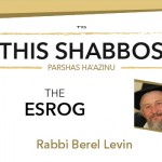 Shabbos at the Besht: The Esrog