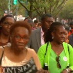 Marchers Rally in Crown Heights Against Gun Violence