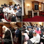 Photos: Slichos in the Rebbe's House