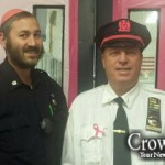 Picture of the Day: Pink Jewish Pride at 46th Precinct