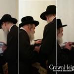 Vizhnitzer Rebbe Receives Unique Gift