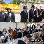 Mayor of Melbourne Celebrates Sukkos with Chabad