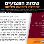 Please Say Tehillim for Terror Victims