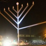 Menorah Vandalized at Campus Chabad House