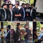 Kimmel Crew in Crown Heights for 'Hipster or Hassid'