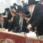 Picture of the Day: Moishy Wishes Mazal Tov