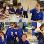Chabad Day School Kids Build Robots and Flashlights