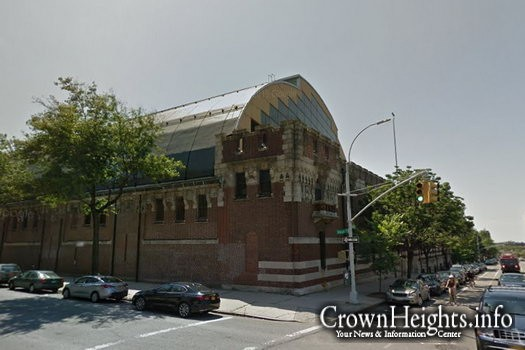 The Bedford-Union Armory in Crown Heights