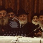 From Days Gone By: On the Rebbe's Dais