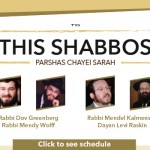 Shabbos at the Besht: Four Guest Speakers