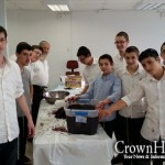 HaMesivta Students Learn to Make Wine