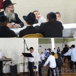 Cheder at the Ohel Greets Rosh Chodesh Kislev with Joy