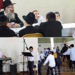 Cheder at the Ohel Greets Rosh Chodesh Kislev with Joy