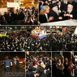 Seven New Torahs Completed in Joyous Event