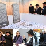 Israeli Finance Minister Visits the Ohel