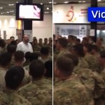 Video: Jewish Businessman Buys Meals for U.S. soldiers in Irish Airport