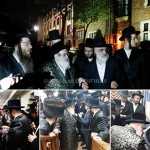 Viznitzer Rebbe Makes Special Visit to 770