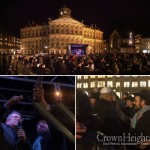 Menorah Lights Up Amsterdam's Dam Square