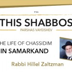 Shabbos at the Besht: The life of Chassidim in Samarkand