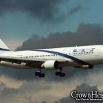 El-Al Flight Delayed Over Video Screens