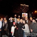 Chanukah Glows in the Dark in London's Buckhurst Hill
