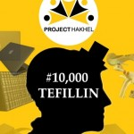 Project Hakhel Aims for 10,000 Tefillin