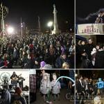 At 1st Candle Lighting Adams Declares Brooklyn's Menorah 'Biggest'