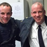 Father and Son Cops Team Up on Arrest of Robbery Suspects