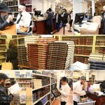 Photos: Shopping for Seforim at Kehot!