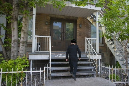 Illustration photo: Chasidic Jew in Outermont. Photo: VIN News.