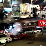 Video: Drunk Driver Crashes into Mitzvah Tank